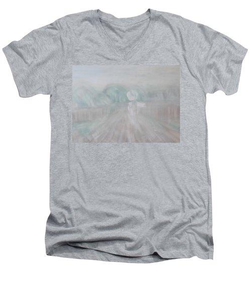 Towards The New Year Men's V-Neck T-Shirt