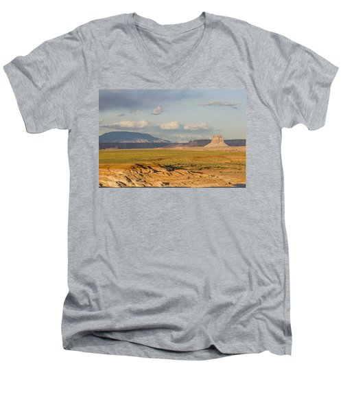 Tower Butte View Men's V-Neck T-Shirt