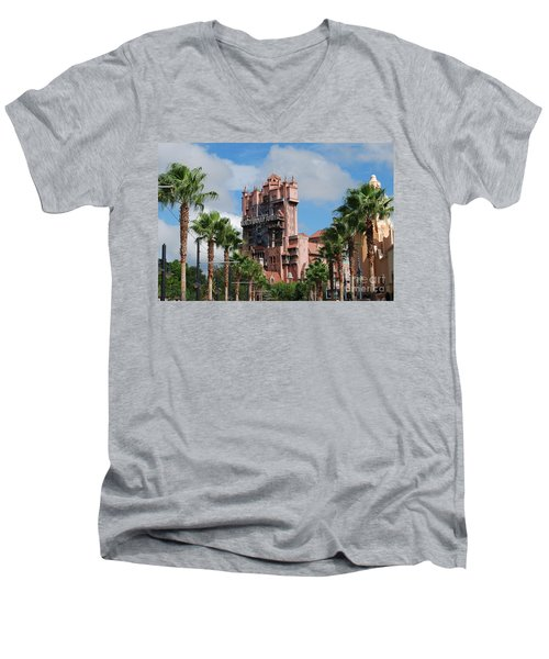 Tower Of Terror  Men's V-Neck T-Shirt