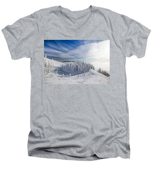 Tranquil Island Men's V-Neck T-Shirt