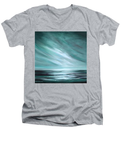 Tranquility Sunset Men's V-Neck T-Shirt