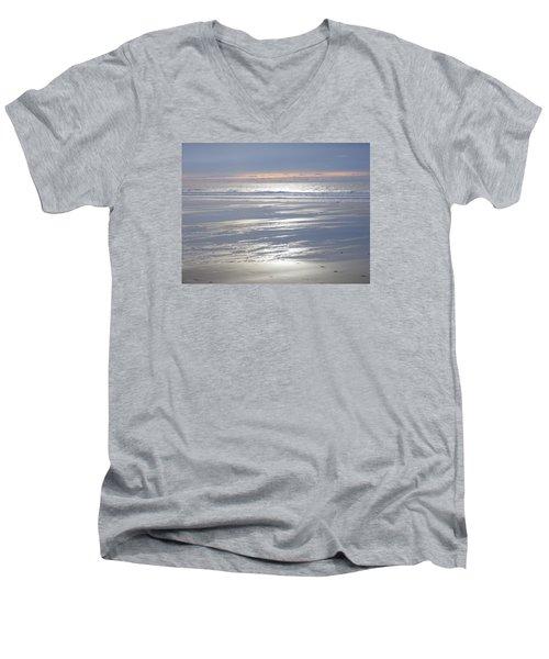 Tranquility Men's V-Neck T-Shirt by Richard Brookes