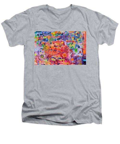 Transition To Chaos Men's V-Neck T-Shirt