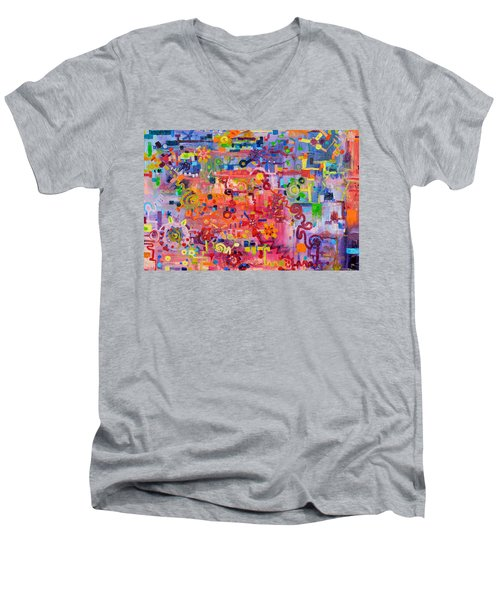 Transition To Chaos Men's V-Neck T-Shirt