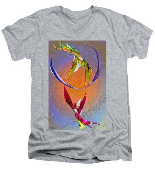 Trapeze Angels Men's V-Neck T-Shirt