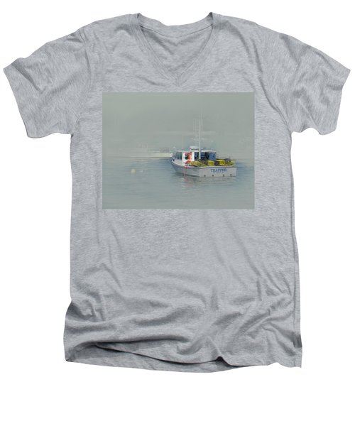 Trapped In The Fog Men's V-Neck T-Shirt