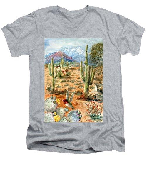 Treasures Of The Desert Men's V-Neck T-Shirt