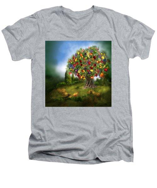 Tree Of Abundance Men's V-Neck T-Shirt