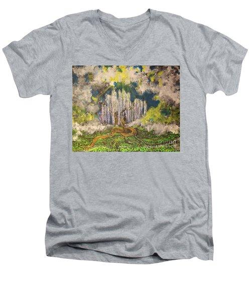 Tree Of Souls Men's V-Neck T-Shirt
