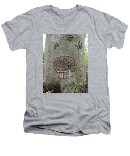 Tree Spirit Men's V-Neck T-Shirt