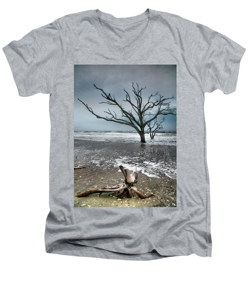 Trees In Surf Men's V-Neck T-Shirt