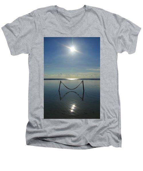 Tres Luces Men's V-Neck T-Shirt
