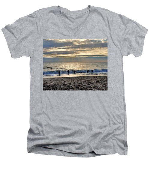 Triathalon Men's V-Neck T-Shirt