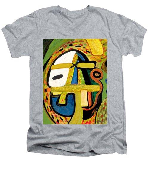 Tribal Mood Men's V-Neck T-Shirt
