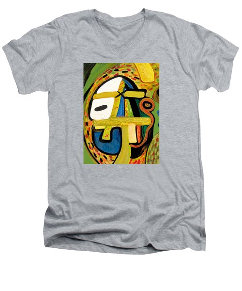 Tribal Mood Men's V-Neck T-Shirt