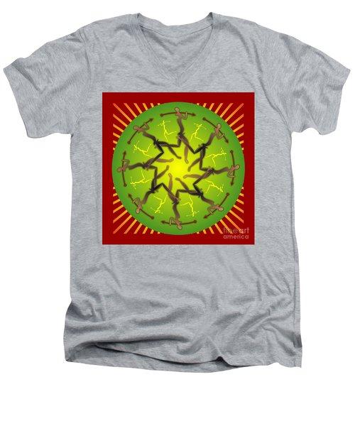 Tribal Warriors Men's V-Neck T-Shirt