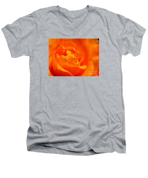 Men's V-Neck T-Shirt featuring the photograph Trip Around The Sun by Patti Whitten