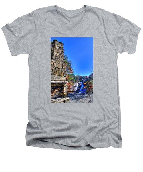 Triple Falls 2 Men's V-Neck T-Shirt