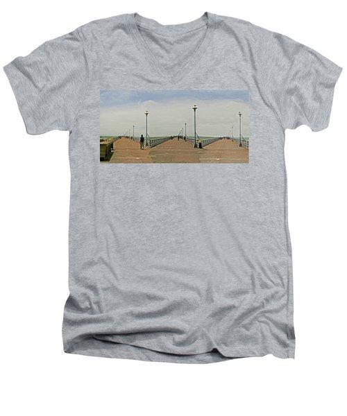 Triple Play Men's V-Neck T-Shirt