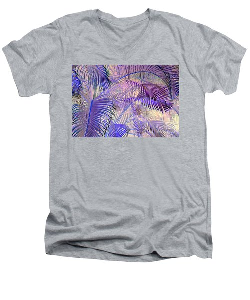 Tropical Embrace Men's V-Neck T-Shirt