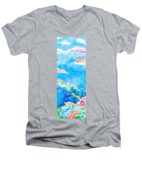 Tropical Fishes Men's V-Neck T-Shirt