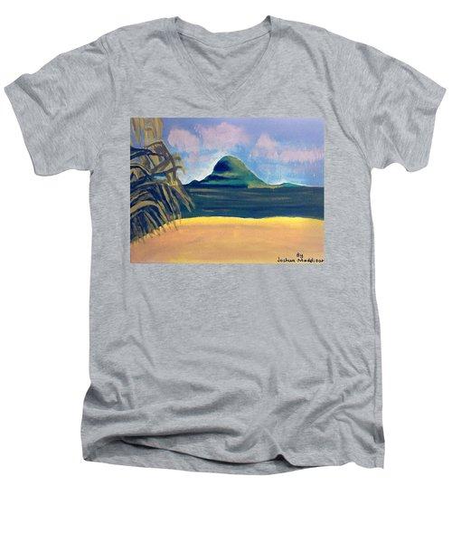 Paradise  Men's V-Neck T-Shirt by Joshua Maddison