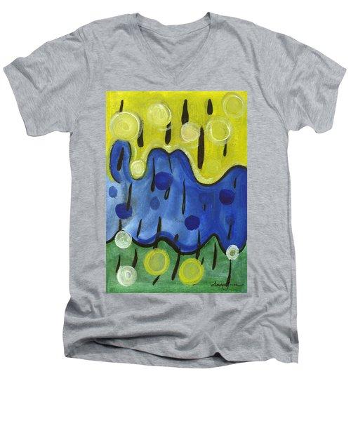 Tropical Rain Men's V-Neck T-Shirt