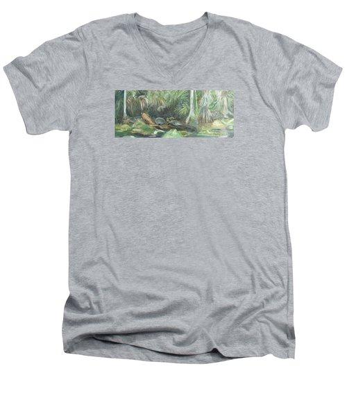 Trout Creek Men's V-Neck T-Shirt