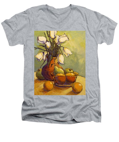 Tulips 1 Men's V-Neck T-Shirt