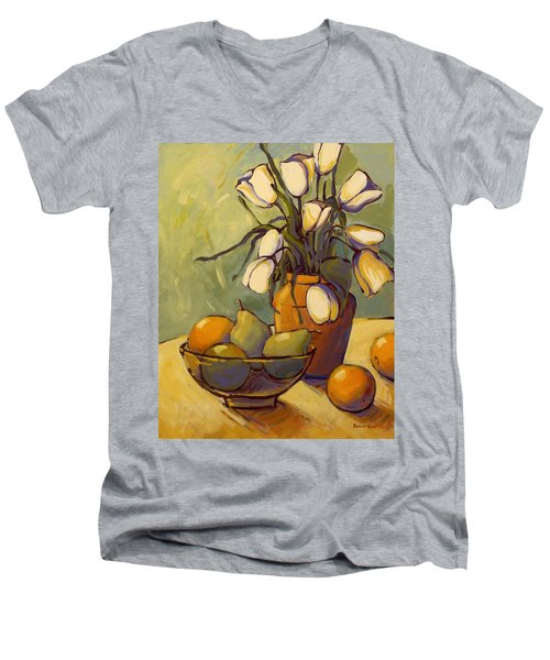 Tulips 2 Men's V-Neck T-Shirt