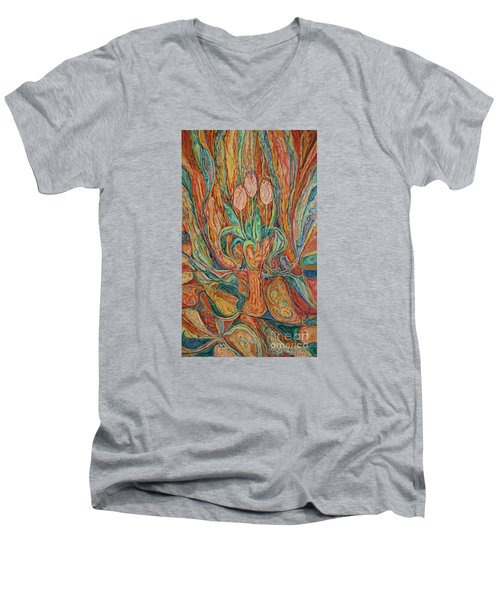 Tulips I Men's V-Neck T-Shirt