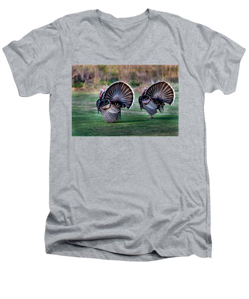 Turkey Men's V-Neck T-Shirt