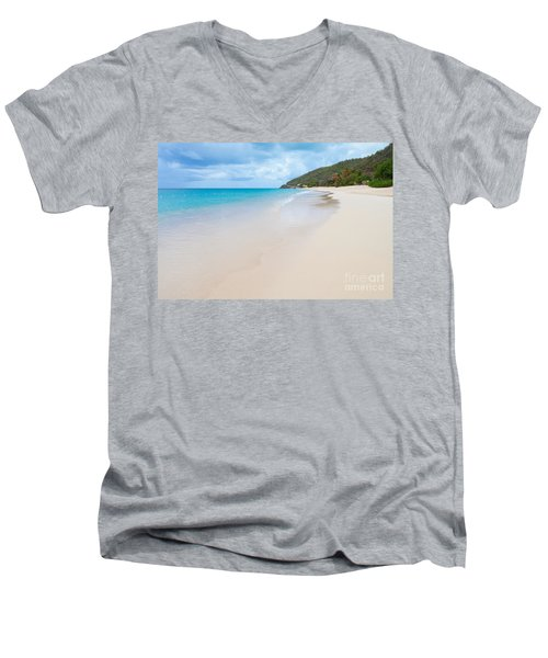 Turner Beach Antigua Men's V-Neck T-Shirt
