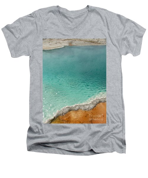 Turquoise Jewels Men's V-Neck T-Shirt