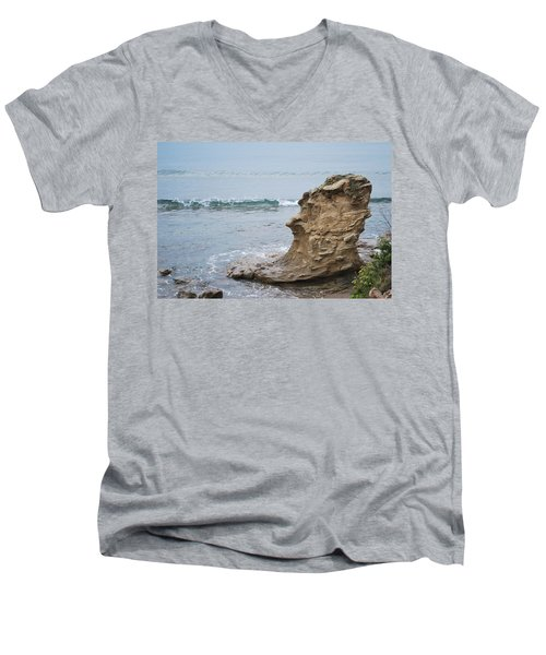 Turquoise Sea Men's V-Neck T-Shirt
