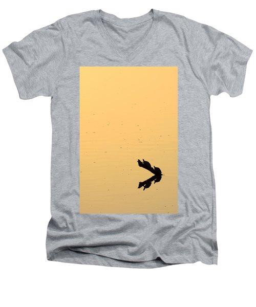 Turtle Art Men's V-Neck T-Shirt