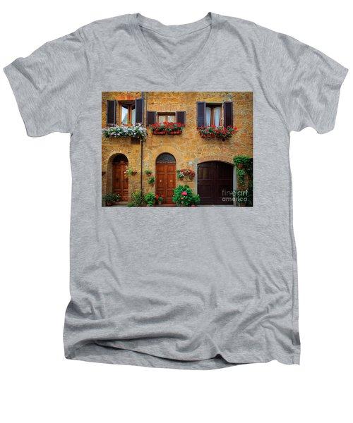 Tuscan Homes Men's V-Neck T-Shirt