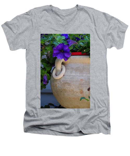 Tuscan Pot Men's V-Neck T-Shirt