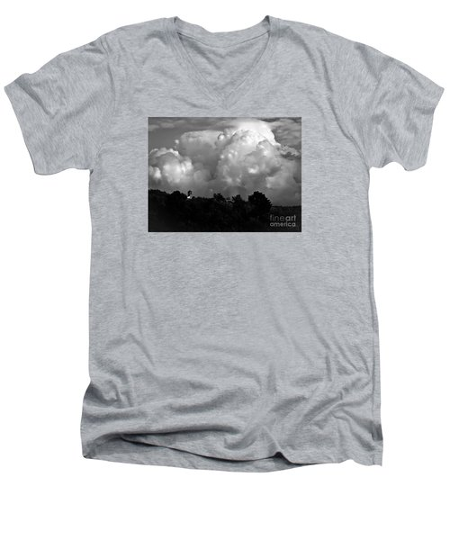Tuscan Storm Rising From The Valley Men's V-Neck T-Shirt