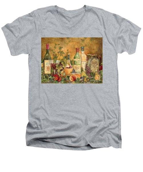 Tuscan Wine Treasures Men's V-Neck T-Shirt