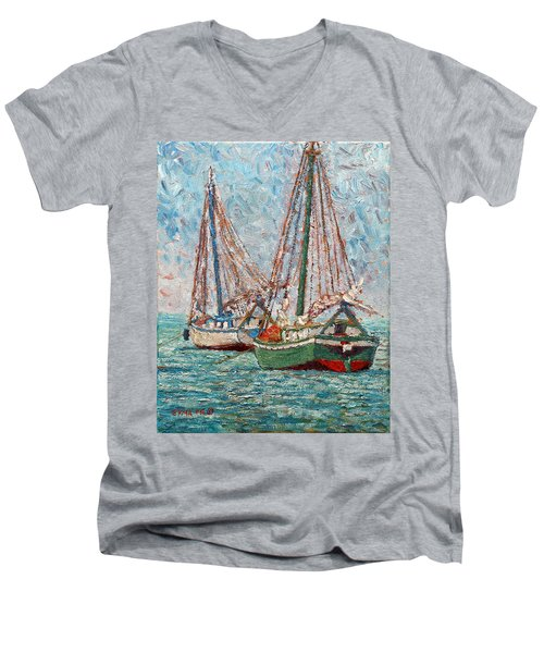 Twin Boats Men's V-Neck T-Shirt