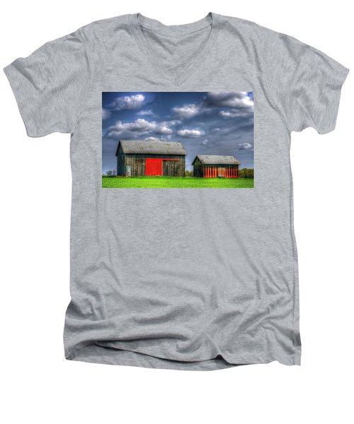 Twins Men's V-Neck T-Shirt