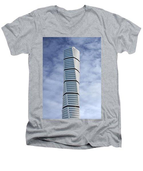 Twisted Architecture Men's V-Neck T-Shirt