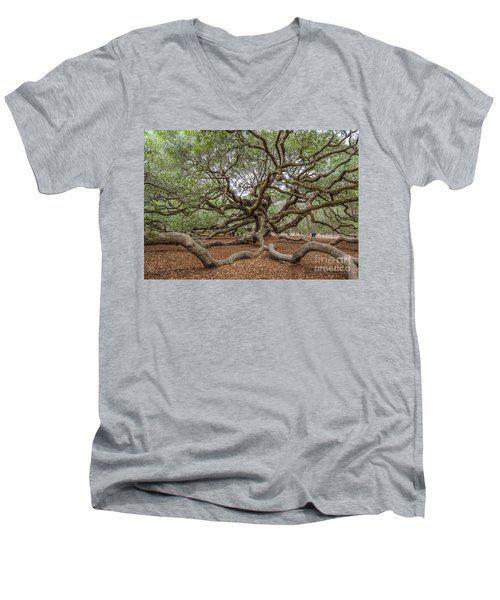 Twisted Limbs Men's V-Neck T-Shirt
