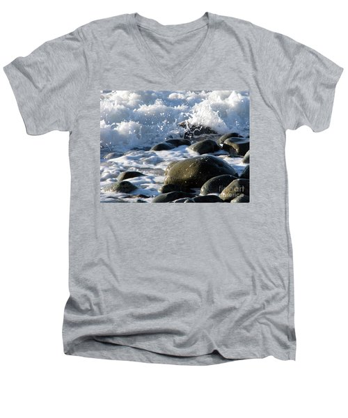 Two Elements Men's V-Neck T-Shirt