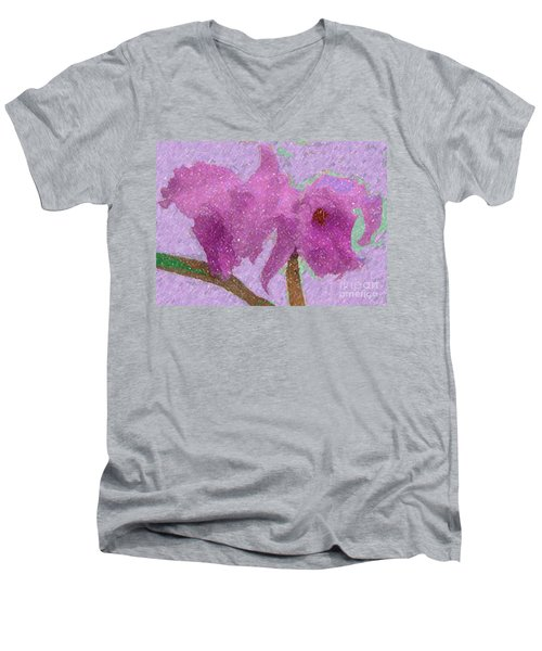 Two Hothouse Beauties Men's V-Neck T-Shirt