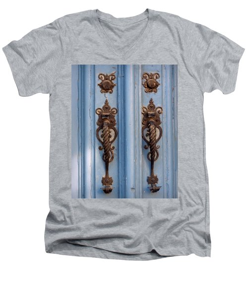 Men's V-Neck T-Shirt featuring the photograph Two Of A Kind by Joseph Skompski