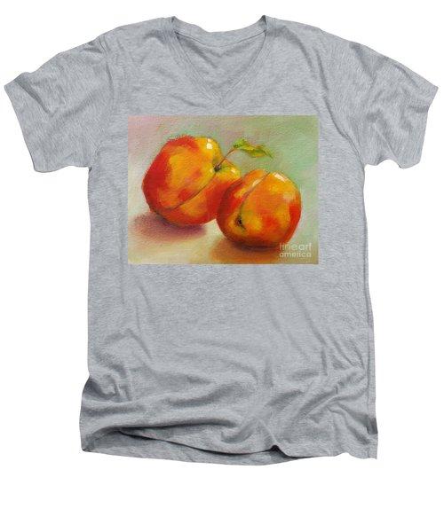 Two Peaches Men's V-Neck T-Shirt
