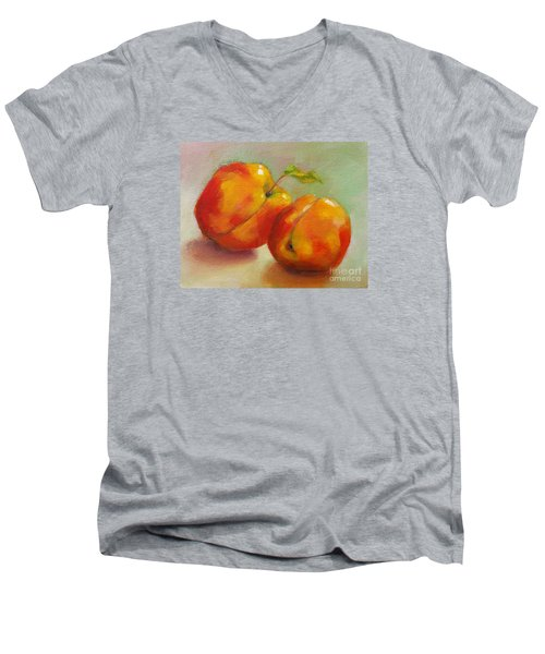 Two Peaches Men's V-Neck T-Shirt