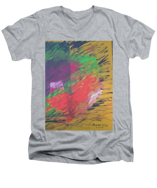 U Tell Me Men's V-Neck T-Shirt